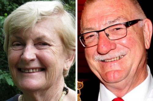 Judy Horton and Kelvin Trimper