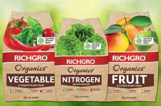 Richgro debuts new Organics brand