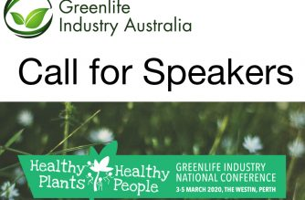 Call for Speakers – Greenlife Industry National Conference, Perth