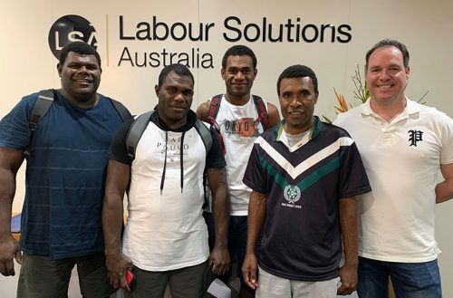 Bringing a Pacific Island Workforce to Australian Horticulture.