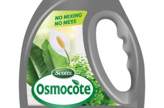 INTRODUCING OSMOCOTE POUR+FEED FOR INDOOR PLANTS