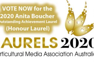 Vote for the Anita Boucher Outstanding Achievement Laurel