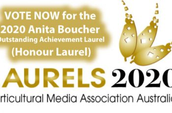 Vote for the Anita Boucher Outstanding Achievement Laurel