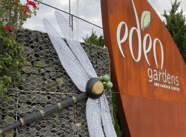 Eden Gardens sculpture